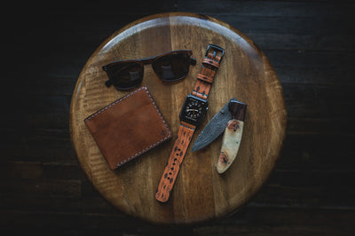 Southwest Apple Watch Strap Tan
