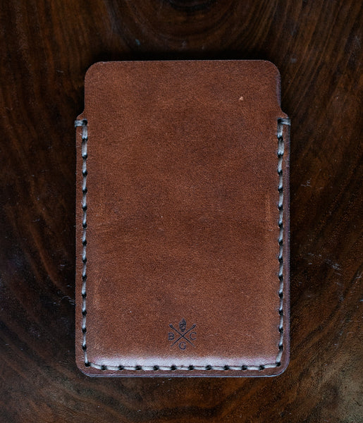 simple card wallet  bexar goods co  texas makers of