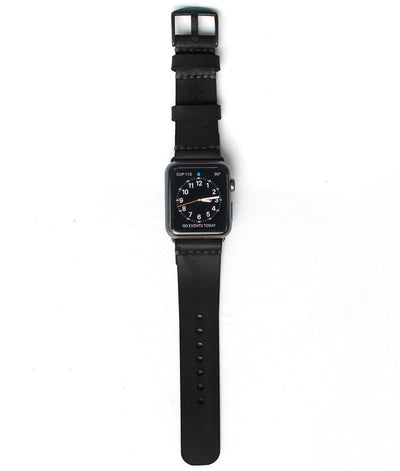Apple Watch Strap // Black Cordovan