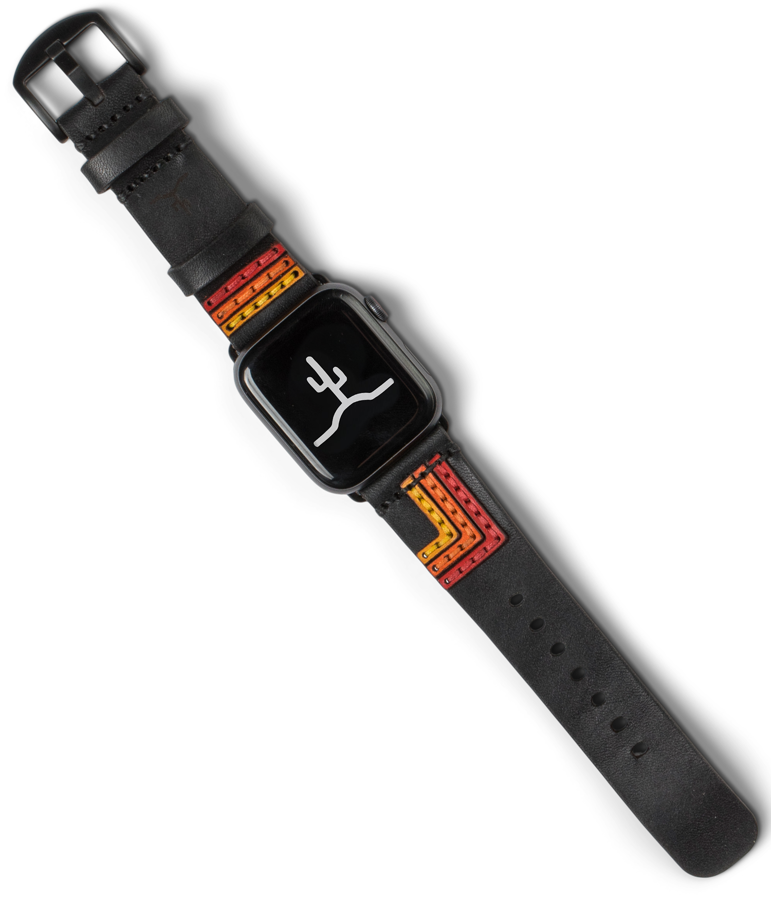 Apple Watch Strap // Black Bolt