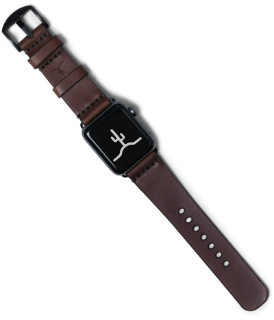 Apple Watch Strap // Chocolate Cordovan