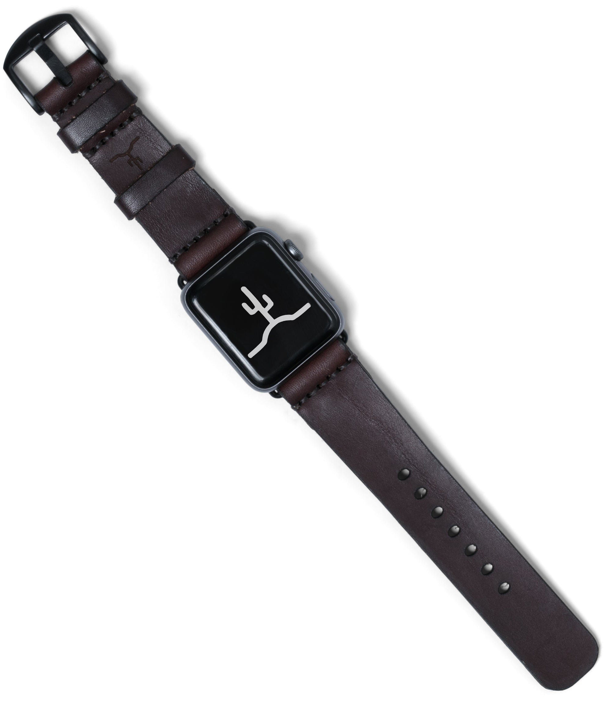 Apple Watch Strap // Dark Brown