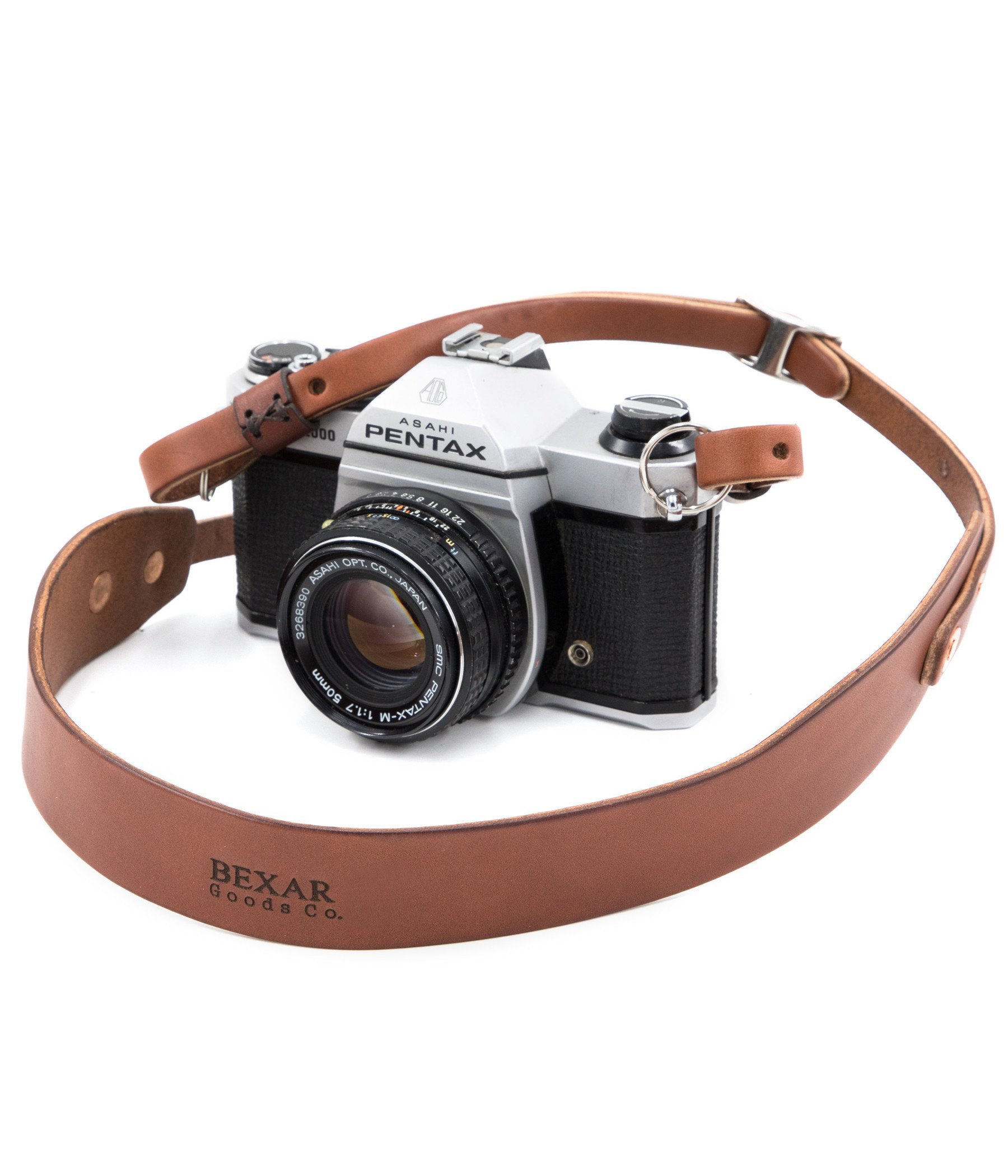 Vagabond Camera Strap // Medium Brown