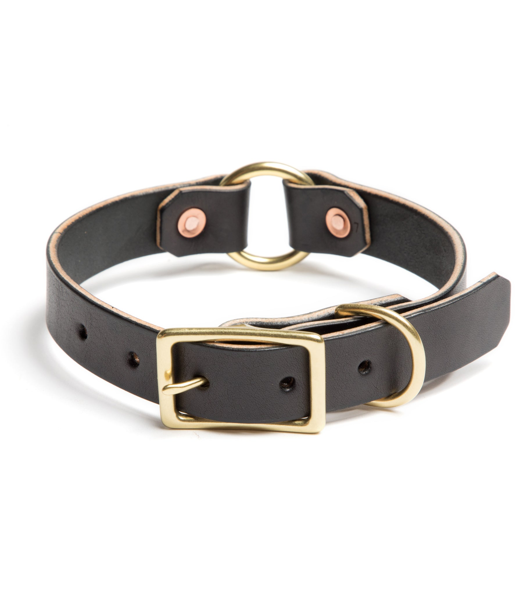 Country Dog Collar // Black