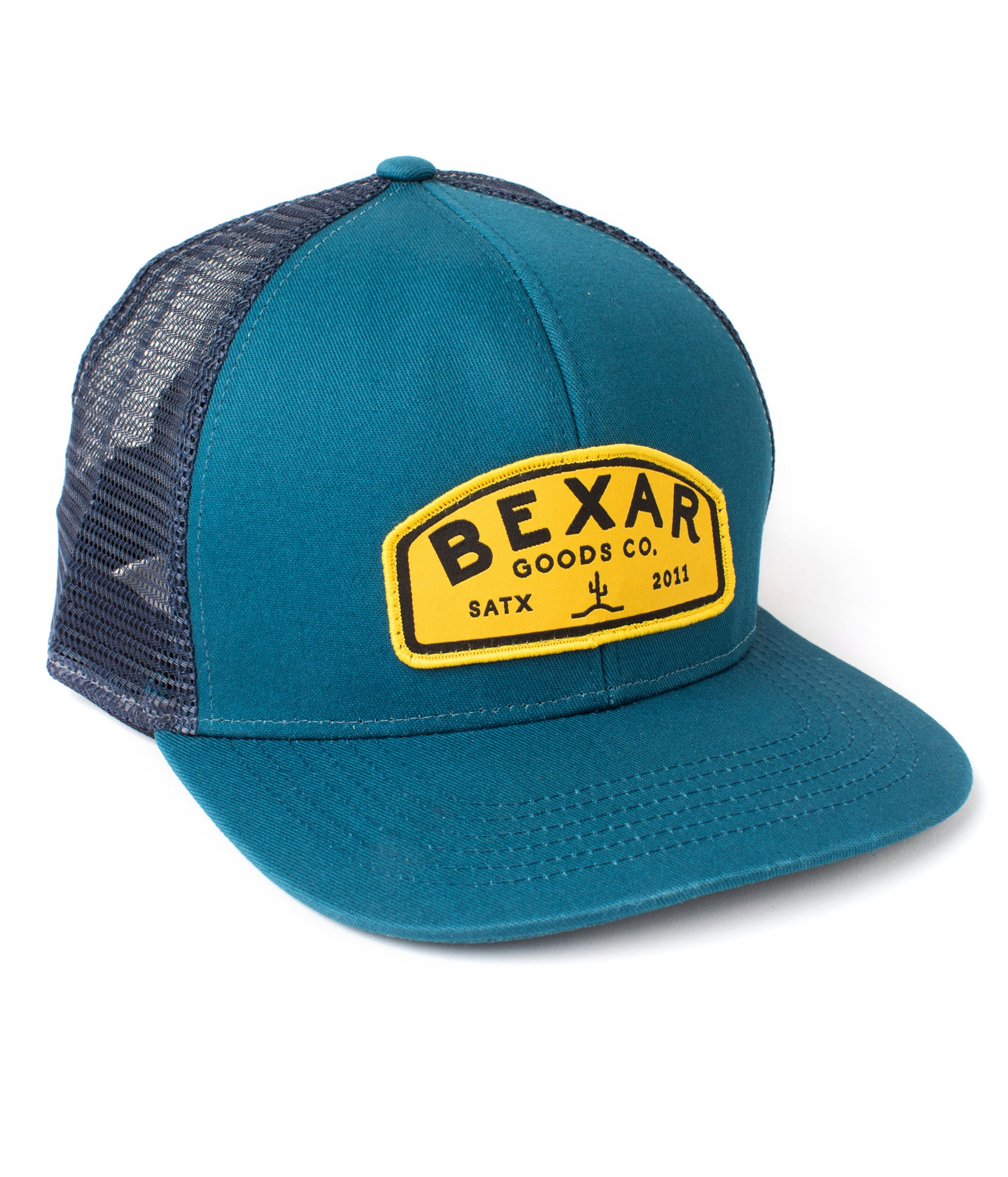 Bexar Safari Cap // Blue