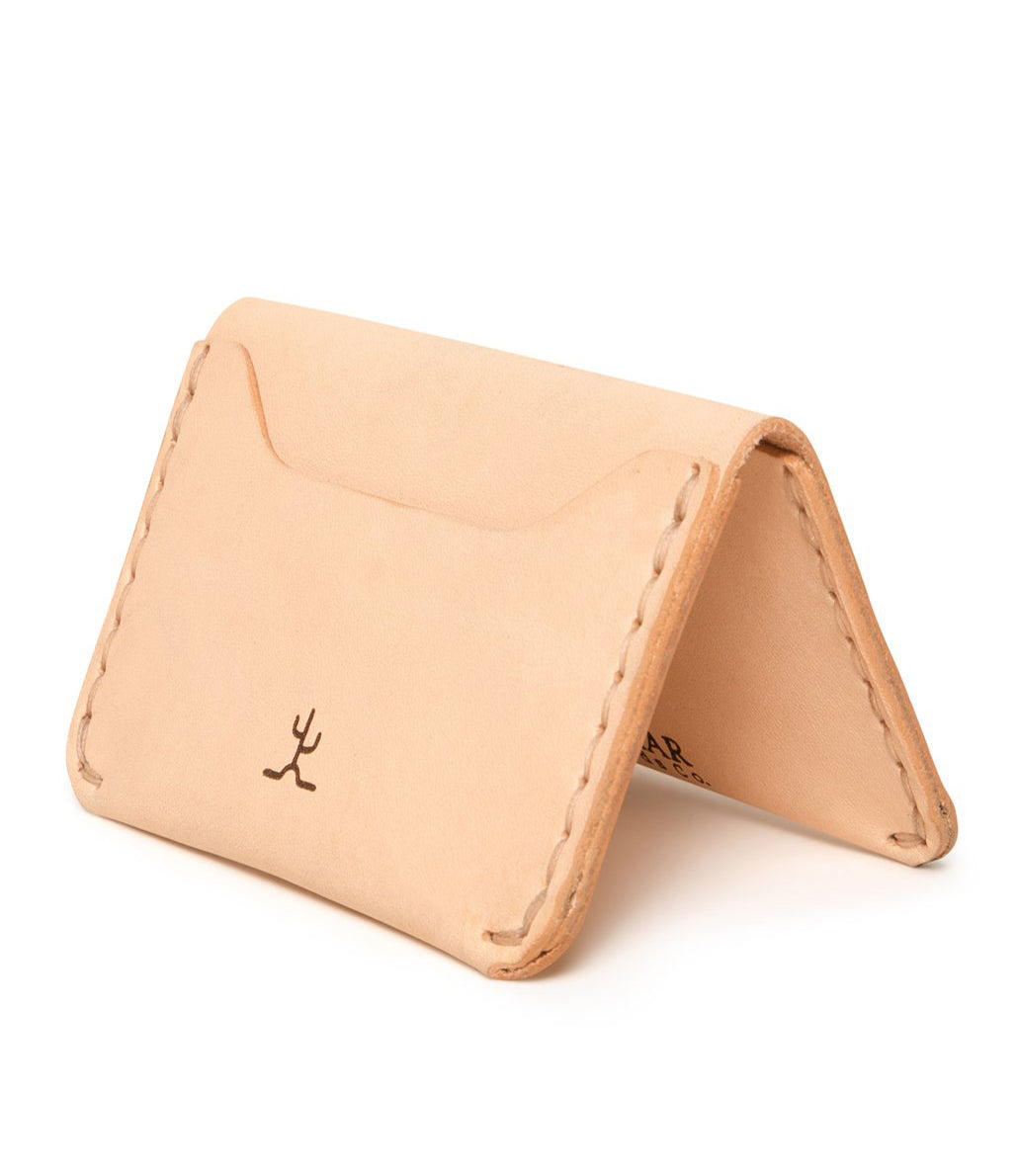 No. 03 Wallet Raw Veg Tan