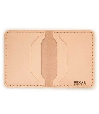 No. 14 Card Wallet Raw Veg Tan