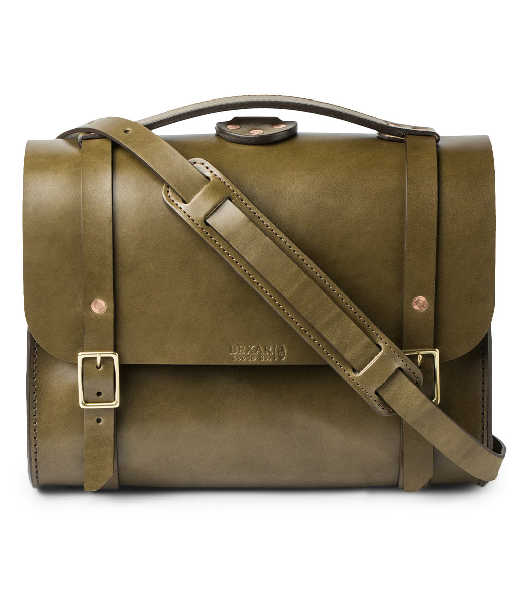 Porter Satchel // Olive Harness