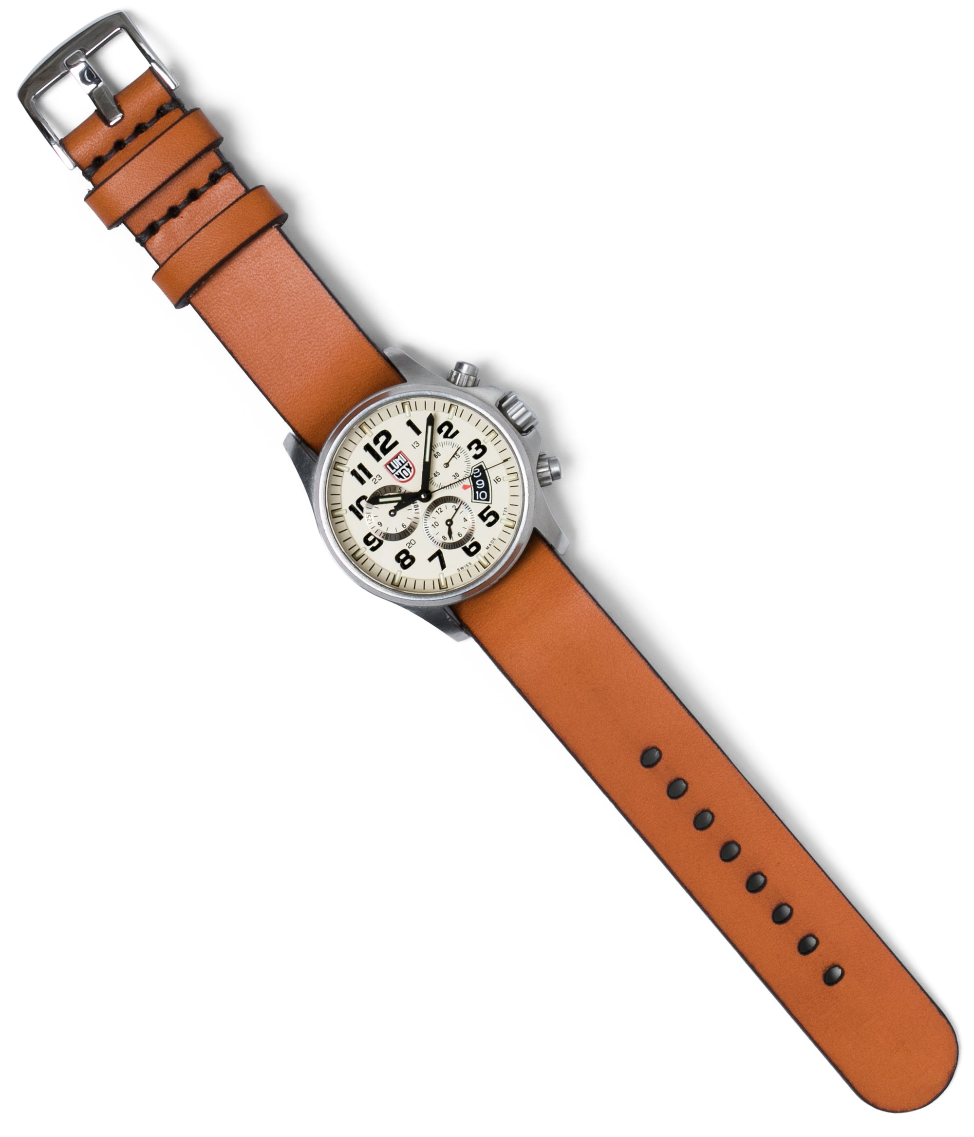 Simple Pass Thru Watch Strap // Tan