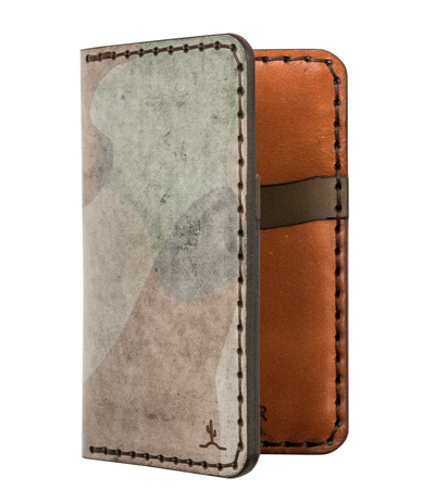 Vertical Card Wallet Ghost Camo