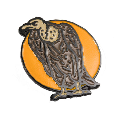 Vulture Enamel Pin - Bexar Goods