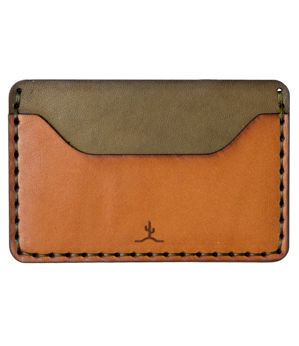 Slim Wallet // Woodland