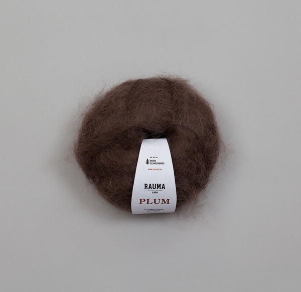 Plum super kid mohair