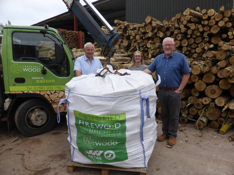 Herefordshire kiln dried logs community buy