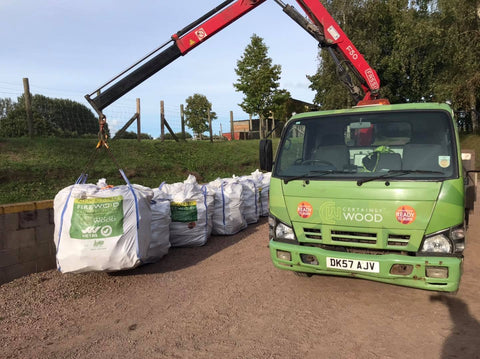 Herefordshire kiln dried hardwood logs delivery