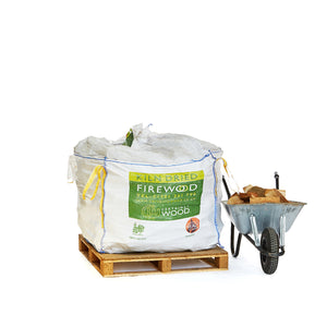 0.8m3 Bulk Bag of Flaming Firewood