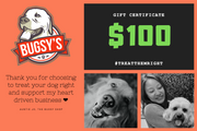 BUGSY'S GIFT CERTIFICATES