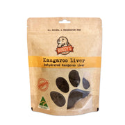 HEALTHY SNACKS | Dehydrated Australian Kangaroo Liver Dog Treats