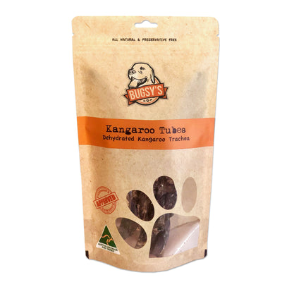 Bugsy Kangaroo Tubes Dog Treats