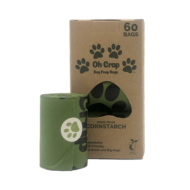 "ACCESSORIES | ""Oh Crap"" Eco-Friendly Poo Bags - NO PLASTIC!"