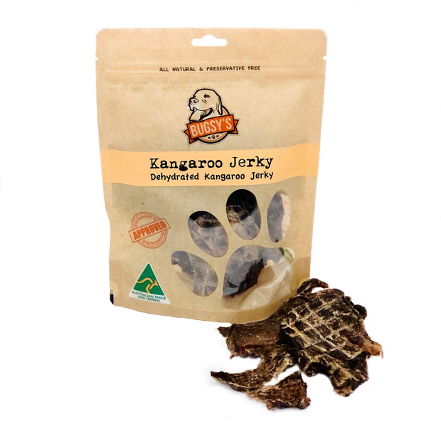HEALTHY SNACKS | Dehydrated Australian Kangaroo Jerky Strips