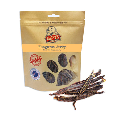 HEALTHY SNACKS | Dehydrated Australian Kangaroo Long Jerky Strips