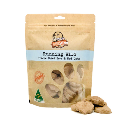 Bugsy Shop Running Wild Functional Dog Treats