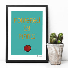 Load image into Gallery viewer, Plant powered digital art print