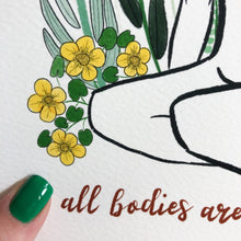 Load image into Gallery viewer, Body positive Art Print