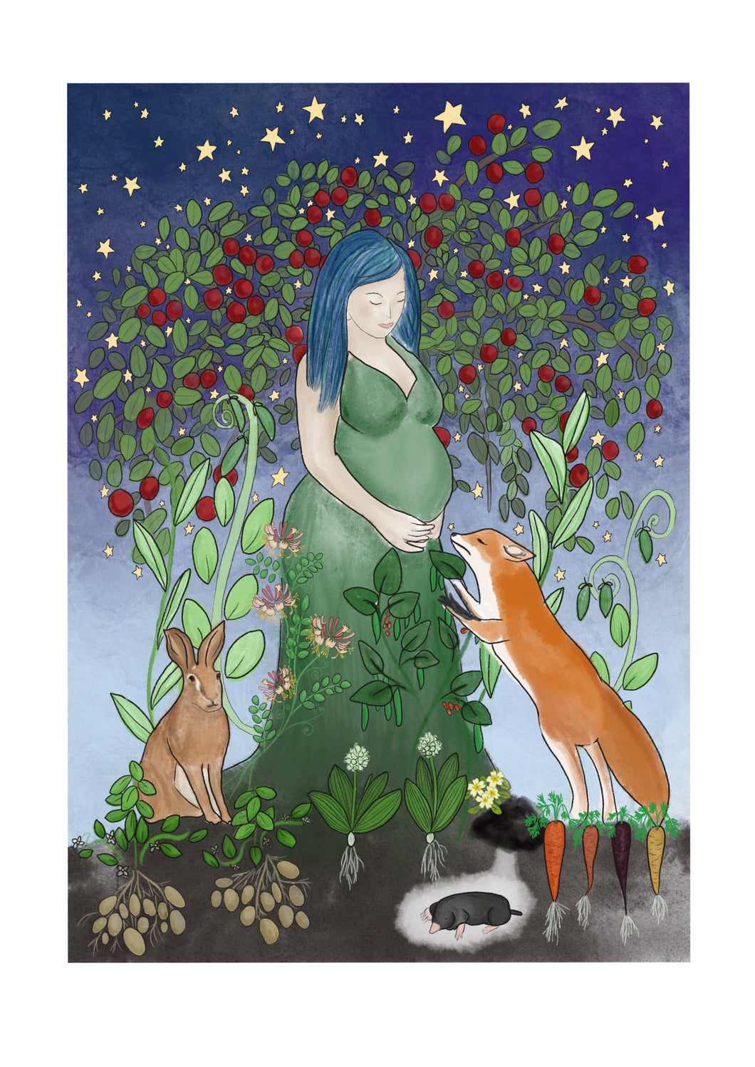 Mother Earth Art Print