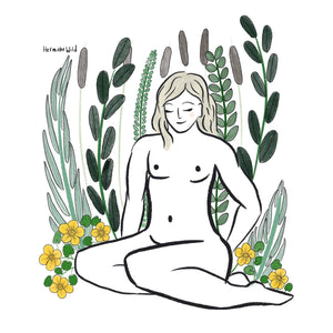 Body positive Art Print