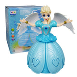[ Gift ] Remote Control Girl Dancing Princess Music Doll Toys
