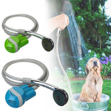 Portable outdoor shower