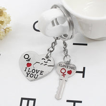 Load image into Gallery viewer, Individual Lover's Key Chain  Jewelry Gifts