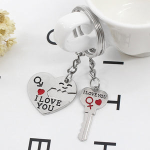 Individual Lover's Key Chain  Jewelry Gifts