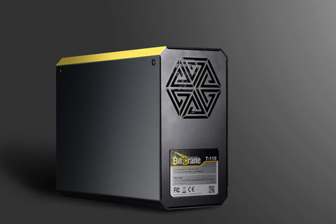 BitCrane T110S (Silent Edition) 1 TH/s Watercooled BitCoin Miner