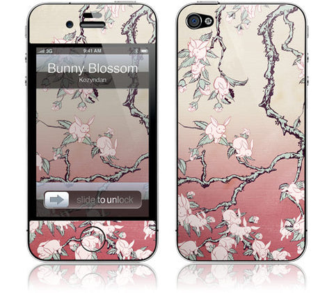 "GelaSkins Film ""Bunny Blossom"" (Apple iPhone 4/4S)"