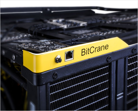 BitCrane T-720 7.2 Th/s Liquid Cooled BitCoin Miner