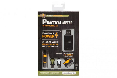 PowerPractical Practical Meter: Find out how fast you are charging!