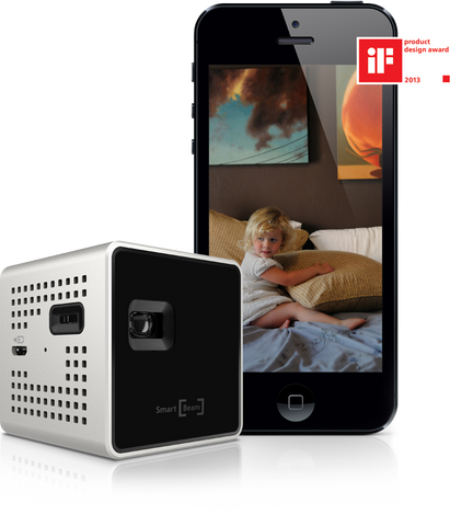 SK Smart Beam Ultra Mini Portable Beam Projector