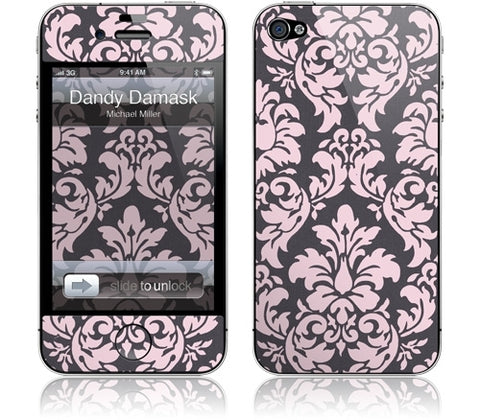 "GelaSkins Film ""Dandy Damask"" (Apple iPhone 4/4S)"