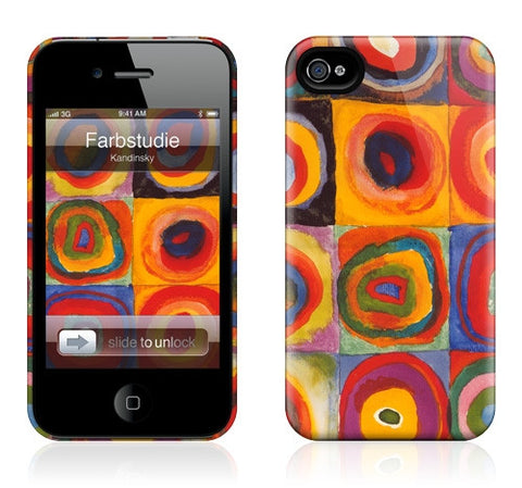 "GelaSkins HardCase ""Farbstudie Quadrate"" (Apple iPhone 4/4S)"