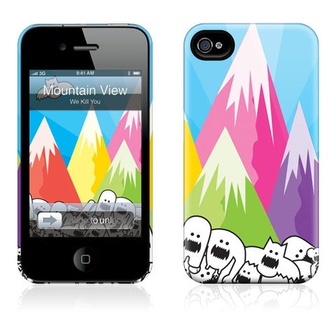 "GelaSkins HardCase ""Mountain View"" (Apple iPhone 4/4S)"