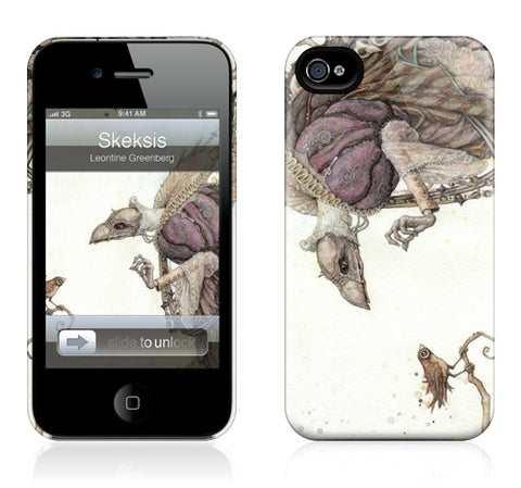 "GelaSkins HardCase ""Skeksis"" (Apple iPhone 4/4S)"