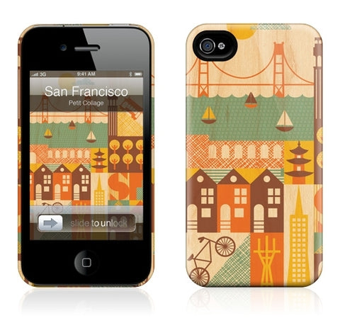 "GelaSkins HardCase ""San Francisco"" (Apple iPhone 4/4S)"