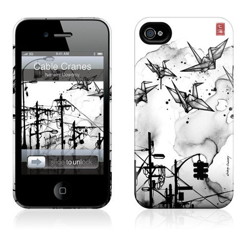 "GelaSkins HardCase ""Cable Cranes"" (Apple iPhone 4/4S)"