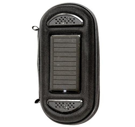 SoliCharger-SP - Solar charger, speaker and rugged case