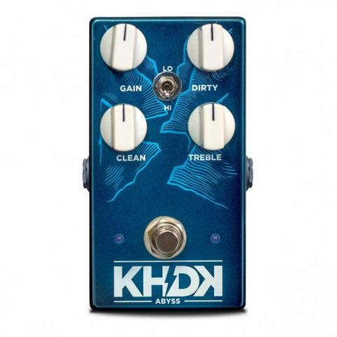 KHDK Electronics Abyss Bass Overdrive xaliman-guitars-new-zealand