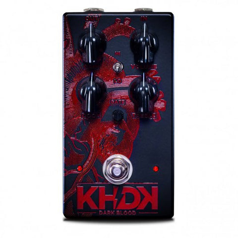 KHDK Electronics Dark Blood Kirk Hammett Signature Distortion Pedal xaliman-guitars-new-zealand