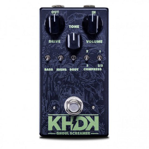 KHDK Ghoul Screamer (Guitar Overdrive) xaliman-guitars-new-zealand